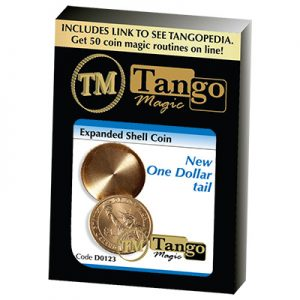 Expanded Shell New One Dollar (Tails)(D0123) by Tango Magic