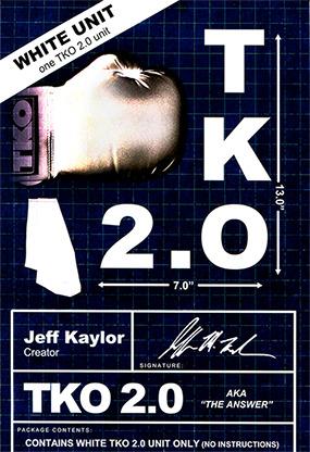 TKO 2.0 Gimmick only (white) by Jeff Kaylor