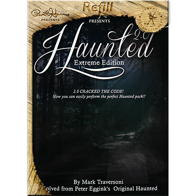 Haunted 2.0 Refills (Chip and Supplies) by Peter Eggink and Mark Traversoni