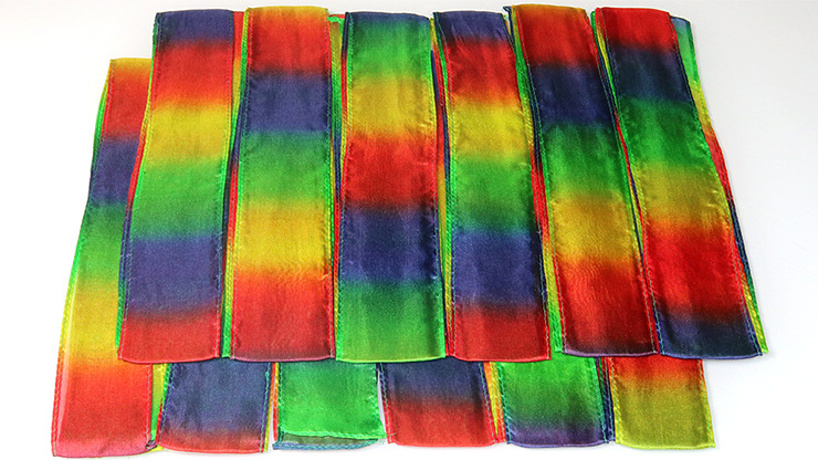 Thumb Tip Streamer 12 PACK (1.5/8 inch x 40 inch) by Magic by Gosh s