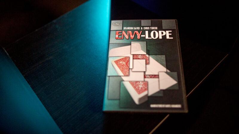 Paul Harris Presents Envylope (BLUE) by Brandon David and Chris Turchi - DVD