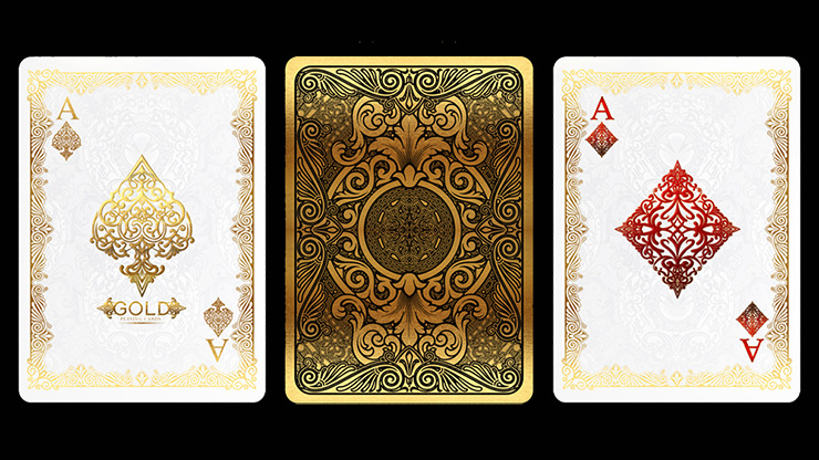 Bicycle Gold Deck by US Playing Cards