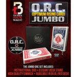 O.R.C.(Optimum Rising Card) Jumbo Blue by Taiwan Ben