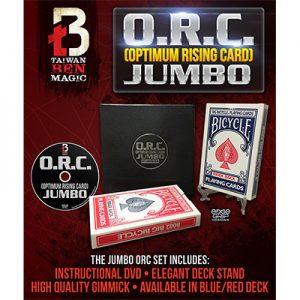 O.R.C.(Optimum Rising Card) Jumbo Red by Taiwan Ben