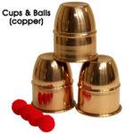Cups & Balls (Copper) by Premium Magic