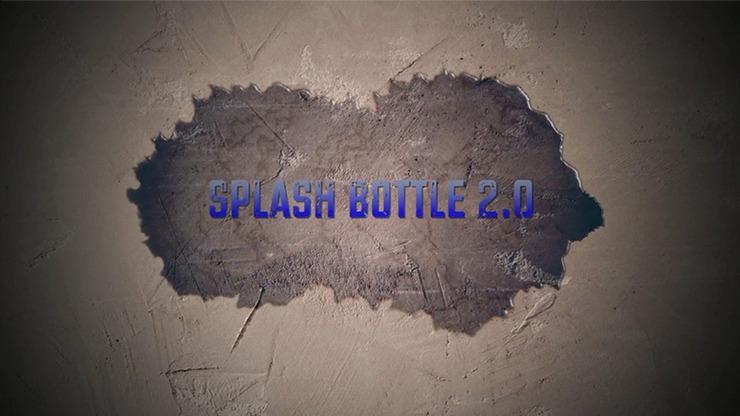 Splash Bottle 2.0 (Gimmick and Online Instructions) by David Stone & Damien Vappereau
