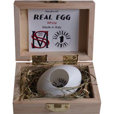 Real Egg (White) by Gianfranco Ermini & Stratomagic