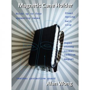 Magnetic Cane holder by Alan Wong