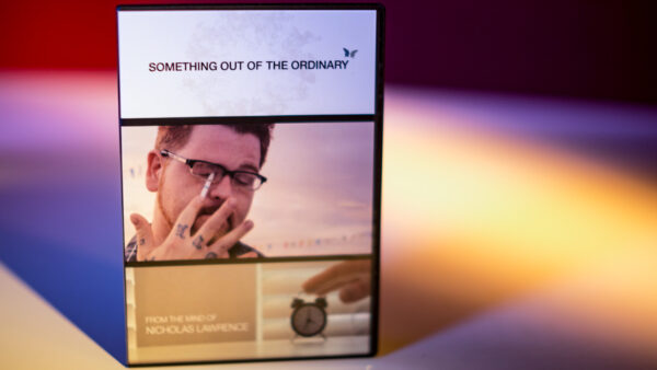 Something Out of the Ordinary by Nicholas Lawrence and SansMinds - DVD
