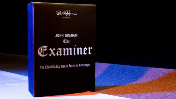 Paul Harris Presents Examiner (Gimmicks & DVD) by John Graham
