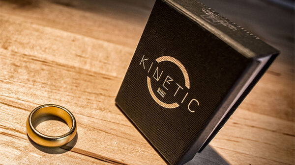 Kinetic PK Ring (Gold) Curved size 10 by Jim Trainer
