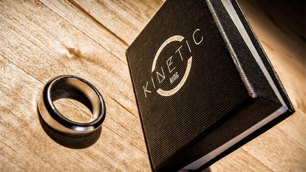 Kinetic PK Ring (Silver) Beveled size 9 by Jim Trainer