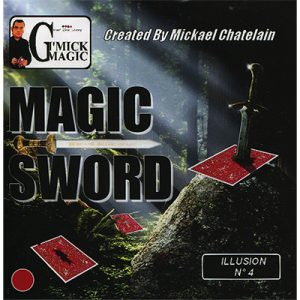 Magic Sword Card (Red)by Mickael Chatelain