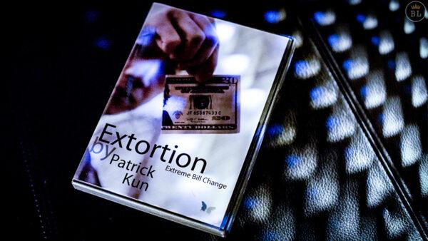 Extortion by Patrick Kun and SansMinds - DVD