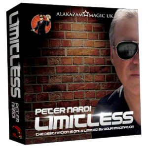 Limitless (7 of Hearts) DVD and Gimmicks by Peter Nardi - DVD