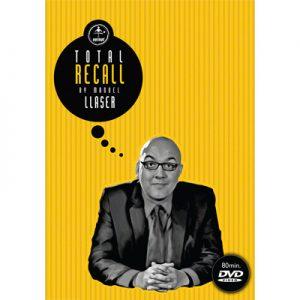Total Recall by Manuel Llaser & Vernet Magic - DVD