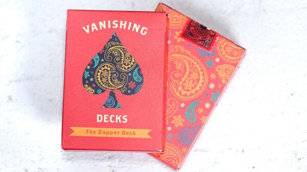 The Dapper Deck (Orange) Printed at USPCC by Vanishing Inc.