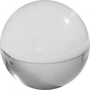 Contact Juggling Ball (Acrylic, CLEAR, 70mm)