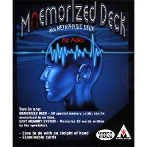 Mnemorized Deck by Astor & on-line instructions