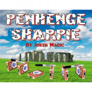 Penhenge Sharpie by Joker Magic