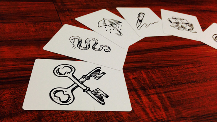 Mentalist Symbol Pack (Deck and Video) by Anton James