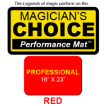 Professional Close-Up Mat (Red - 16x23) by Ronjo