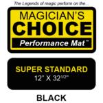 Bartender's Choice Close-Up Mat (BLACK Super Standard - 12x32.5) by Ronjo