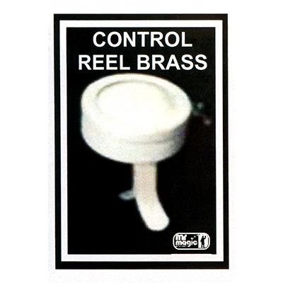 Control Reel (Brass) by Mr. Magic