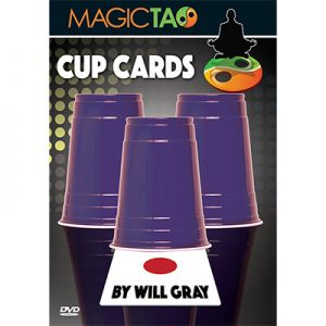 Cup Cards by Will Gray and Magic Tao - DVD