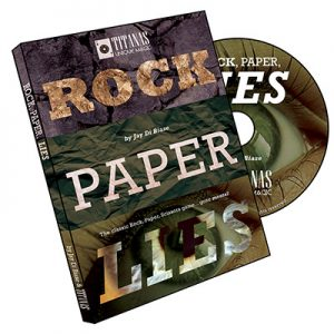 Rock, Paper,Lies by Jay Di Biase and Titanas Magic Productions - DVD
