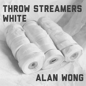 Throw Streamers white (30 Head / 10 pk.) by Alan Wong