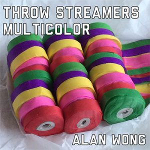 Throw Streamers Multi (30 Head / 10 pk.) by Alan Wong