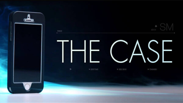 The Case (Silver) DVD and Gimmick by SansMinds
