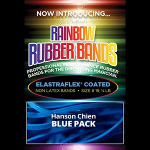 Joe Rindfleisch's Rainbow Rubber Bands (Hanson Chien - Blue Pack) by Joe Rindfleisch