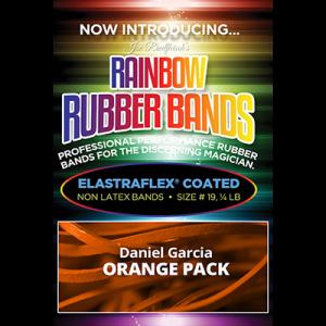 Joe Rindfleisch's Rainbow Rubber Bands (Daniel Garcia - Orange Pack ) by Joe Rindfleisch