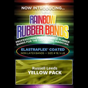 Joe Rindfleisch's Rainbow Rubber Bands (Russell Leeds -Yellow ) by Joe Rindfleisch