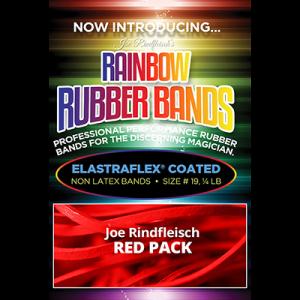 Joe Rindfleisch's Rainbow Rubber Bands (Joe Rindfleisch - Red Pack) by Joe Rindfleisch