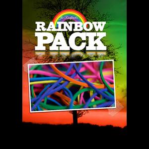 Joe Rindfleisch's Rainbow Rubber Bands (Rainbow Pack) by Joe Rindfleisch