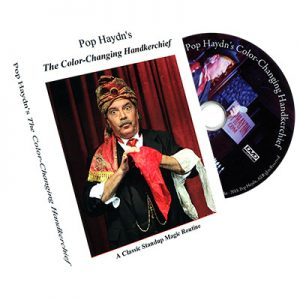 Color Changing Handkerchief by Pop Haydn - DVD
