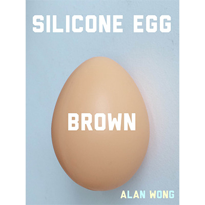 Silicone Egg (Brown) by Alan Wong