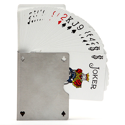 Card Guard Stainless (Perforated) by Bazar de Magic