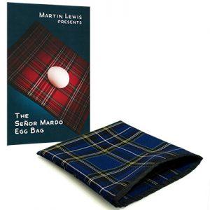 Senor Mardo Egg-Bag (Blue) by Martin Lewis