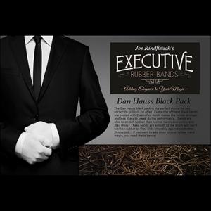 Joe Rindfleisch's Executive Rubber Bands (Dan Hauss - Black Pack) by Joe Rindfleisch