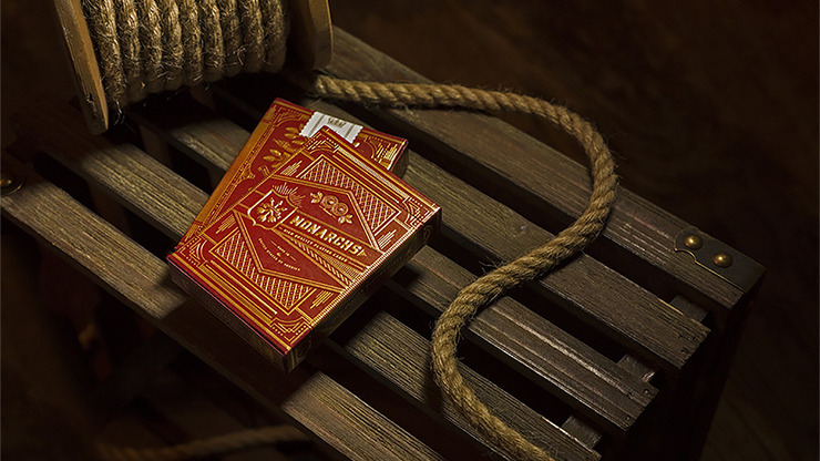 Monarch Playing Cards (Red) by theory11