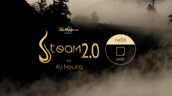 Paul Harris Presents Steam 2.0 Refill Pad (50 sheets) by Paul Harris