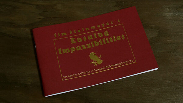 Ensuing Impuzzibilities by Jim Steinmeyer - Book