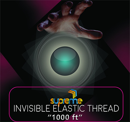 Invisible Elastic (1000 ft Spool) by Supreme Magic World