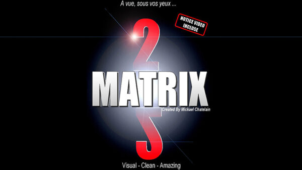 Matrix 2.0 (Blue) by Mickael Chatelain
