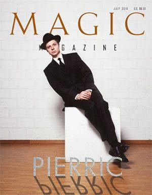 "Magic Magazine ""Pierric"" July 2016 - Book"