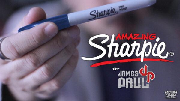 Amazing Sharpie Pen (Blue) by James Paul